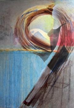 Een olieverf schilderij
