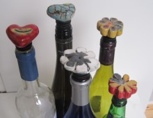 Flessenstop/Wijnstop/Relatiegeschenk