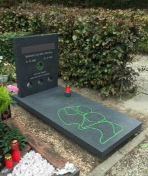 persoonlijke grafsteen bij groot verlies