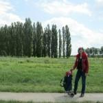 Kijken naar een kathedraal in Almere