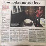 krantenartikel Doe goed en zie niet om De Limburger 26-5-2018