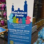 Rotary Land van Gelre organiseert een duckrace in Venlo